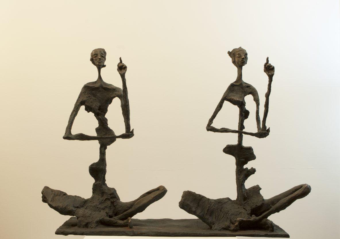Meditators 2 Sculpture For Sale By Artist Won Lee